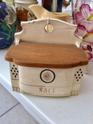 Coordinates with the spice jars/oil & vinegar...highly collectible.