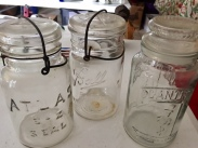 Jars of all kinds, colors...