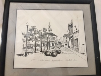 Signed print, Fayetteville