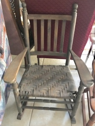 Rockers, side chairs!