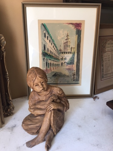 Framed art-there are two complimenting pieces