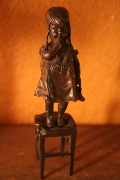 Bronze piece, highly collectible!